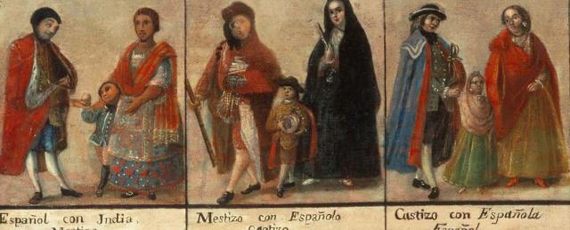 Por Lo Derecho » Indios, Mestizos, Blancos…